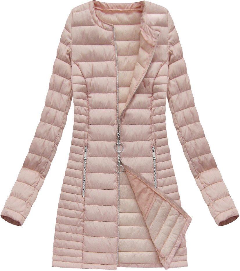 długie kurtki pikowane damskie jesienne